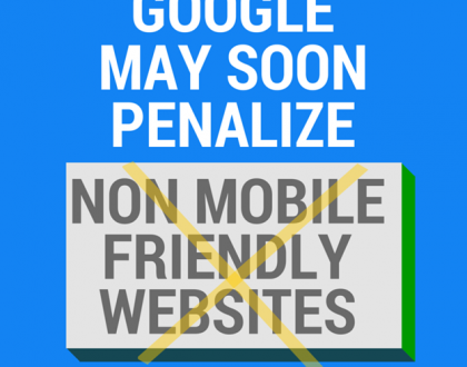 Google ranking mobile site